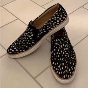 UGG leopard animal print sneakers